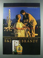 1981 E&J Brandy Ad - Share Your Golden Moments