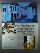 1981 Dewar's White Label Scotch Ad - Was Never Elected