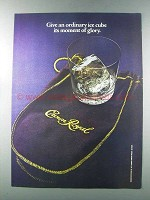 1981 Seagram's Crown Royal Whisky Ad - Moment of Glory