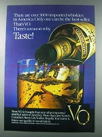 1981 Seagram's V.O. Whisky Ad - 3000 Imported