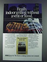 1981 Jenn-Air Ventless Grill-Range Ad - Indoor Grilling