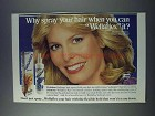 1981 Wella Wellaflex Hair Spray Ad - Marjorie Wallace