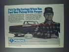 1981 Pargas Propane Ad - Pick Up Big Savings