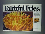 1981 Ore-Ida French Fries Ad - Faithful Fries