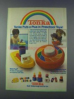 1981 Tonka Scrub Tug and Rainbow Top Ad