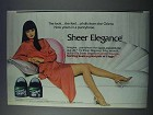 1981 L'eggs Sheer Elegance Pantyhose Ad - From Orient
