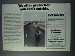 1981 Universal Underwriters Insurance Company Ad