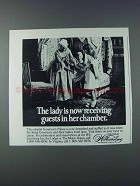 1981 Colonial Williamsburg, Virginia Ad - The Lady
