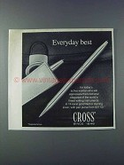 1981 Cross Pens Ad - Everyday Best