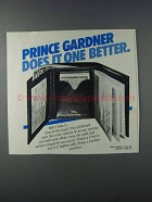 1981 Princess Gardner 3-Fold Wallet Ad - Does It Better