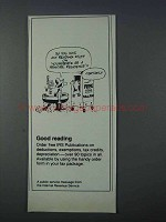 1981 Internal Revenue Service Ad - Any Reading Stuff