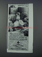 1981 Crabtree & Evelyn Millefleurs Perfume Ad - Another Age