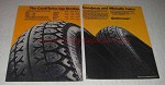 1981 Continental ContiTwins Tires Ad - Top Twice