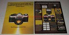1981 Canon AE-1 Program Camera Ad - Nobody Able