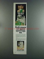 1982 Rival Can Opener Ad - Save Teeth and Nails