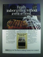 1982 Jenn-Air Ventless Grill-Range Ad - Finally