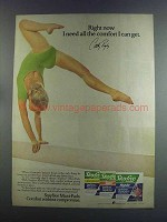 1982 Stayfree Maxi-Pads Ad - Cathy Rigby
