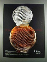 1982 Bijan Cologne Ad - $1500 Not Every Man Wearing