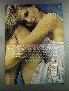 1982 Johnson's Baby Oil Ad - Nothing to Hide