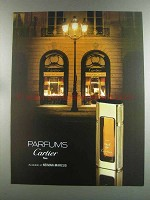1982 Must de Cartier Perfume Ad - Parfums