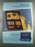 1982 Bonne Bell Eye Shadow, Powder Blush & Lip Gloss Ad