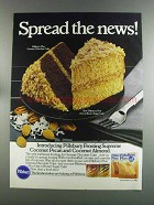 1982 Pillsbury Plus Ad - German Chocolate Cake
