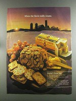 1982 Land O Lakes Butter Ad - Jeweled Cheese Ball