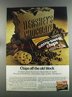 1982 Hershey's Chocolate Chips Ad - Chips Off Old Block