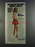 1982 Converse Shoes Ad - Chris Evert Lloyd