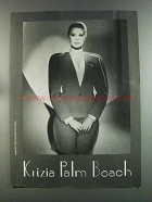 1982 Krizia Fashion Ad - Krizia Palm Beach