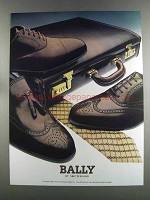 1982 Bally of Switzerland Shoes Ad