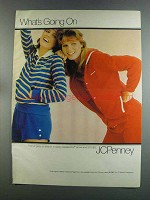 1982 JCPenney Sweatworks Active Wear Ad