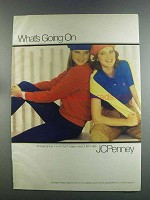 1982 JCPenney Hunt Club Fashion Ad - what's Going On