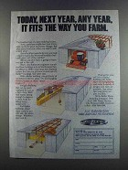 1982 Butler Buildings Ad - Fits The Way You Farm