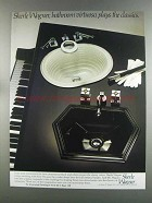 1982 Sherle Wagner Sinks and Faucets Ad - Virtuoso