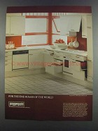 1982 Poggenpohl Form 2000, Series CC 100 Cabinetry Ad