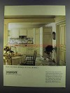 1982 Poggenpohl Form 2000, Series LP 703 Cabinetry Ad