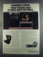 1982 Pioneer Foresight 7000 Ad - Melissa Manchester