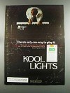 1982 Kool Lights Cigarettes Ad - Only One Way to Play
