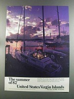 1982 United States Virgin Islands Ad - Summer of 82