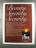 1982 Le Rivage Key Biscayne Florida Ad - Beauty