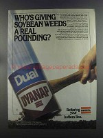 1982 Unitroyal Dynap / Dual Ad - Soybean Weeds Pounding