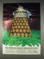 1982 Grace Gold Dollar Fertilizer Ad - More You Need