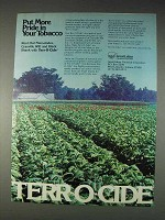 1982 Great Lakes Terr-O-Cide Ad - More Pride in Tobacco