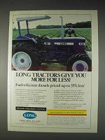 1982 Long 610 Tractor Ad - Give You More For Less