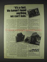 1982 Avco New Idea 486 and 484 Baler Ad - It's a Fact