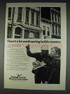 1982 National Trust for Historic Preservation Advertisement