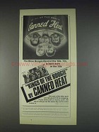1982 Canned Heat Kings of the Boogie Album Ad