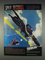 1982 Kerker Exhaust Systems Ad - Split Seconds