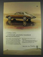 1982 Cadillac Seville Ad - Automotive Investment